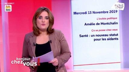 Amélie de Montchalin - Public Sénat mercredi 13 novembre 2019