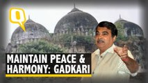 Nitin Gadkari, Welcomes Ayodhya Verdict, Appeals, 'Maintain Peace'