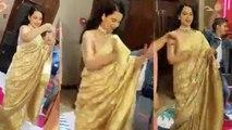 Kangana Ranaut's Pahadi dance in brother's engagement ceremony; Watch video | FilmiBeat