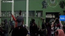 Watch: Bolivian police join scattered anti-Morales protests