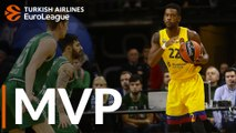 Turkish Airlines EuroLeague Regular Season Round 7 MVP: Cory Higgins, FC Barcelona
