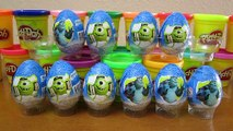 10 Kinder Surprise Eggs from Monsters University-