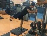 UNMUKT CHAND WORKOUT VIDEO WITH BROKEN LEG | Oneindia News