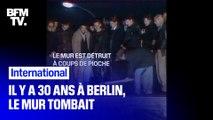 Il y a 30 ans, à Berlin, le Mur tombait...