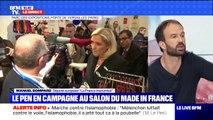 """Marche contre l'islamophobie: pour Manuel Bompard (LFI), Marine Le Pen cherche """"à masquer ses responsabilités"""""""