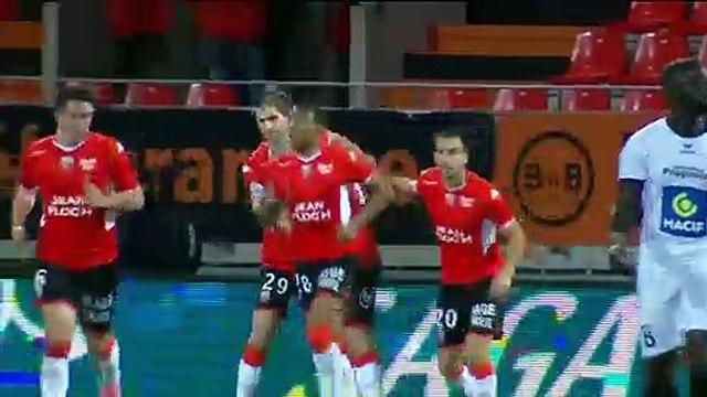 Le résumé du match FC Lorient - Niort (4-1) 19-20