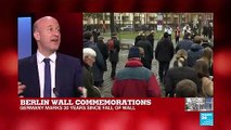 "Berlin Wall commemorations: In the first half of 1989 ""there wasn't a sense of imminent collapse"""