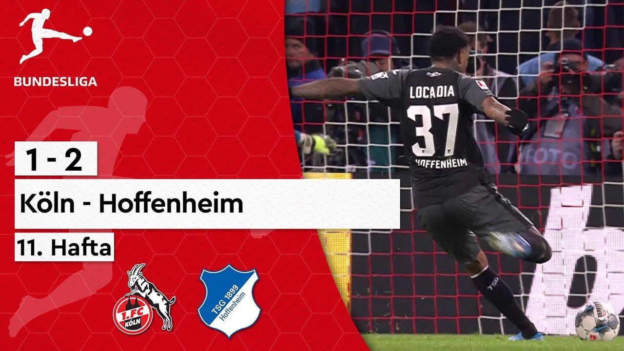 11. Hafta / Köln - Hoffenheim (1-2) - Maç Özeti - Bundesliga 2019/20