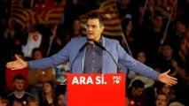 Spanish PM call for calm in Catalonia in campaign plea