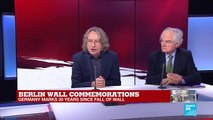 """Berlin Wall commemorations: """"I was really disappointed by Merkel's speech"""""""