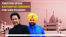 Pakistan opens Kartarpur Corridor for Sikh Pilgrims