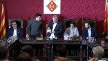 El Ayuntamiento de Cervera recibe a los hermano Márquez