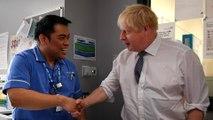 Brexit: Johnson promises doctors and nurses 'fast-track NHS visa'