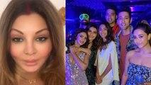 Rakhi Sawant lashes out at Shefali Zariwala; Hina, Pooja & others party on Kasauti set | FilmiBeat