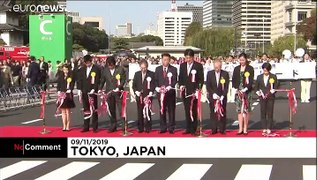 Japan celebrates New Emperor Naruhito with music and dance