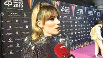 Edurne abala a Blas Cantó como representante de Eurovisión