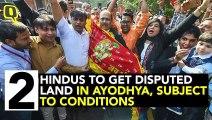 SC Verdict: Hindus Get Disputed Land, Alternate Site for Mosque