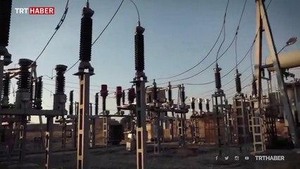 Mehmetçik Rasulayn'ın elektrik trafolarını onarıyor