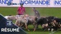 PRO D2 - Résumé Rouen-Oyonnax: 3-28 - J10 - Saison 2019/2020