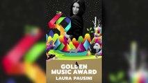 Laura Pausini recibió el premio Golden por sus 25 años de carrera