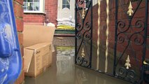 Residents in Doncaster protect their homes from flooding