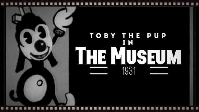 "Toby the Pup in ""The Museum"""