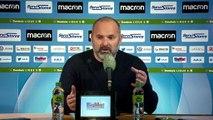 Conférence de presse de Pascal Dupraz après AJ Auxerre / SMCaen