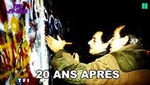 La chute du mur de Berlin, rendez-vous imaginaire de Sarkozy, Fillon et Juppe avec l'Histoire?