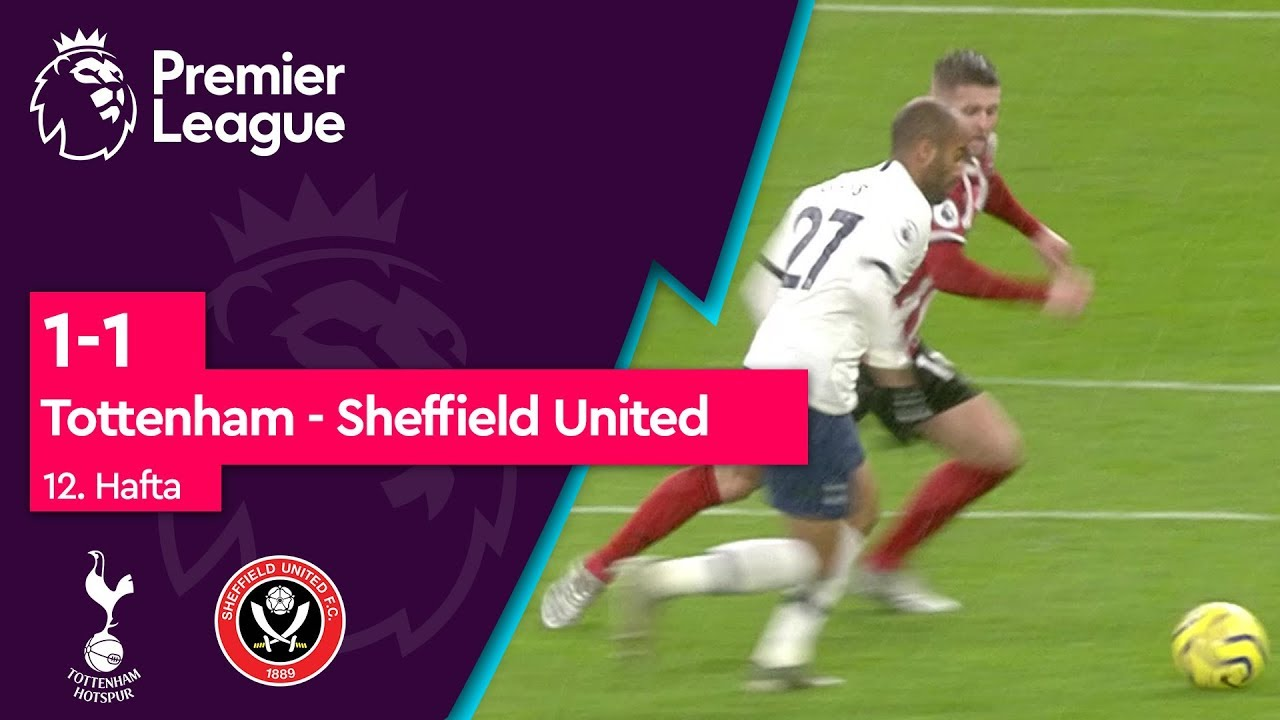 12. Hafta / Tottenham - Sheffield United (1-1) - Maç Özeti - Premier League 2019/20