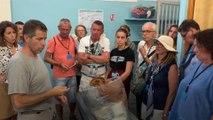 A Marseille, les visiteurs se ruent à la prison des Baumettes