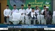 Ma'ruf Amin Peringati Maulid Nabi di Tangerang