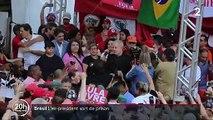 Brésil : l'ancien président Lula libéré de prison