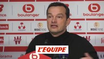 Hognon «Un bon résultat, vu le contexte» - Foot - L1 - Metz