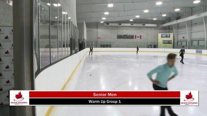 2020 Skate Ontario Sectionals - Senior Men  Short Program