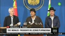 Evo Morales convoca a diálogo en una Bolivia bajo tensión máxima