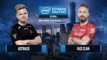 CSGO - Astralis vs. FaZe Clan [Dust2] Map 1 - Semifinals - IEM Beijing-Haidian 2019