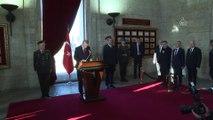 Atatürk'ün ebediyete intikalinin 81'inci yılı - Cumhurbaşkanı Erdoğan Anıtkabir şeref defterini imzaladı - ANKARA