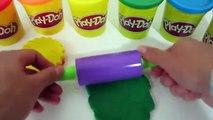 DIY Play Doh Rainbow Cake Strawberry Frosting-