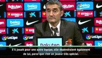 """Valverde : """"Impossible de ne pas dépendre de Messi"""""""
