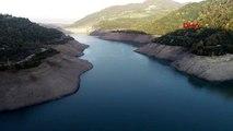 Kocaeli yuvacık barajı'nda su seviyesi yüzde 22'ye düştü