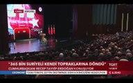 """Cumhurbaşkanı Erdoğan: """"Cumhuriyetimizin Lafla İstismarını Yapmadık"""""""