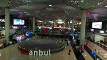 İstanbul havalimanı'nda 09.05