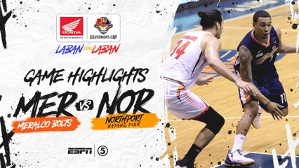 Highlights: Meralco vs NorthPort | PBA Governors' Cup 2019