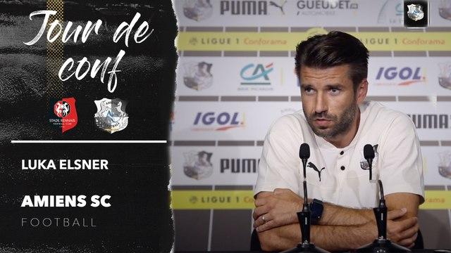 Conférence de presse d'avant Match Stade Rennais FC - Amiens SC, Luka Elsner