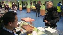 La mañana en los colegios electorales se desarrolla con normalidad