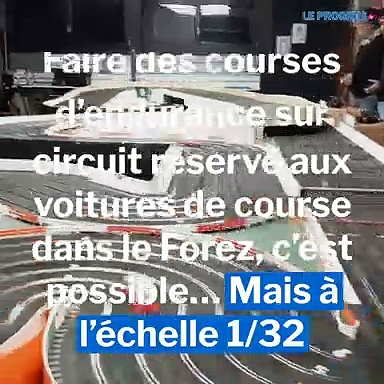 Courses d'endurance sur circuit  miniature avec Slot racing club 42