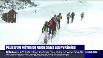 La neige est tombée en abondance à La Mongie, dans les Hautes-Pyrénées