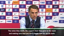 Neville wants England to build on record Wembley crowd