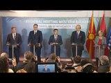 """LIVE/  """"Shengeni Ballkanit"""", konferenca e përbashkët Rama - Vuçiç- Zaev"""