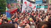 Brésil: Lula, remonté à bloc, rassemble ses partisans